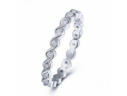 Stříbrný prstýnek od OLIVIE