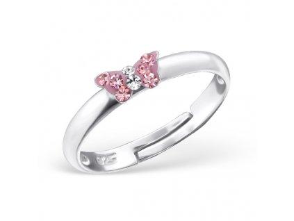 dětský stříbrný prstýnek MOTÝLEK pro děti