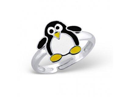 dětský stříbrný prstýnek TUČŇÁK pro děti