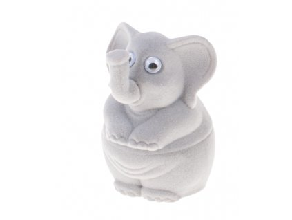 Dárková krabička na šperky slon