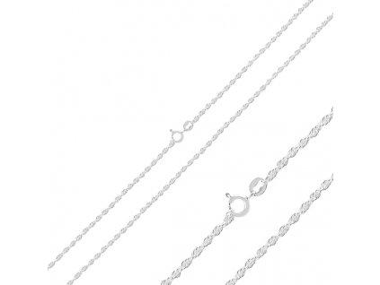 Dlouhý 70cm stříbrný řetízek od OLIVIE