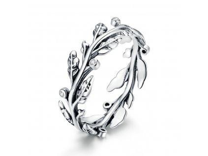 Stříbrný prsten BOHYNĚ od Olivie