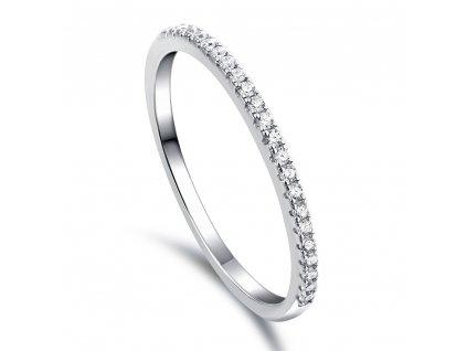 Stříbrný prstýnek TŘPYTIVÁ ZÁŘE od OLIVIE