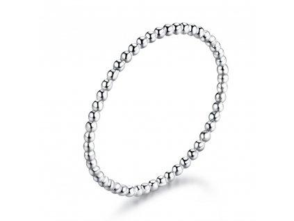 Nejjemnější stříbrný prstýnek od OLIVIE