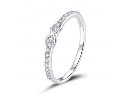 Stříbrný prsten NEKONEČNO od OLIVIE