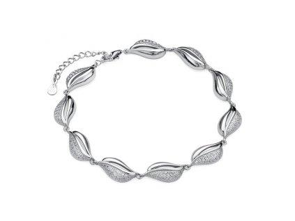 Stříbrný luxusní dámský náramek ze stříbra 925/1000 s puncem ryzosti od OLIVIE