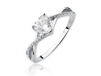 Stříbrný prsten SRDCE od OLIVIE