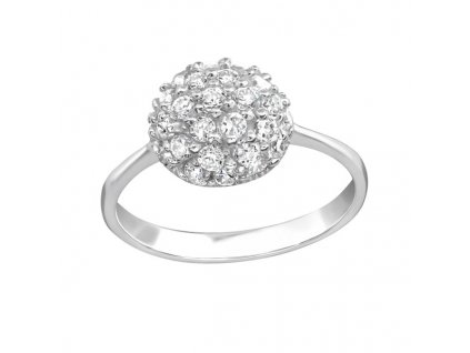0677 Nádherný stříbrný prsten  Ag 925; 2 g.