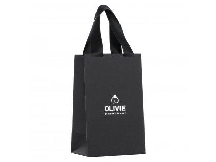 Dárková luxusní papírová taška OLIVIE na šperky