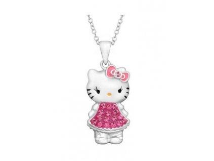 Hello Kitty stříbrný řetízek kočička