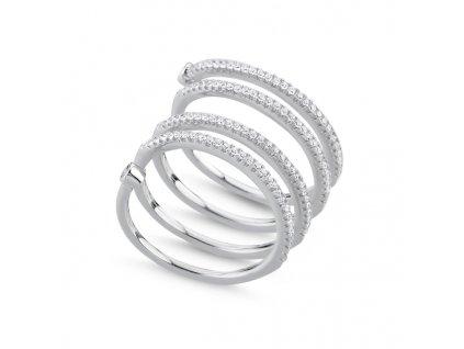 Stříbrný prsten SPIRAL