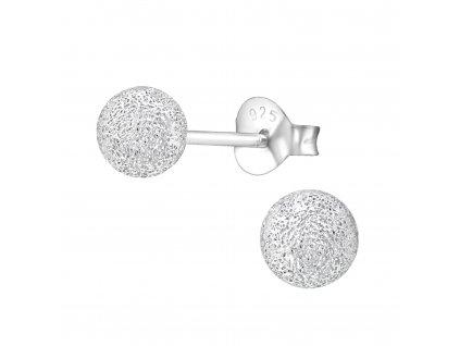 Stříbrné kuličky 5 mm