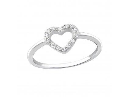 1477 stříbrný prsten OLIVIE