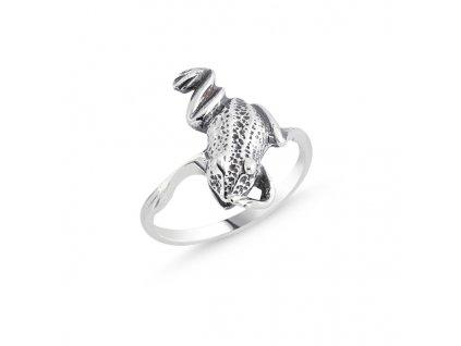 Stříbrný prsten ŽÁBA