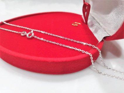 levný stříbrný řetízek k přívěsku OLIVIE