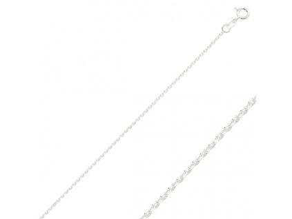 Stříbrný řetízek 45 cm