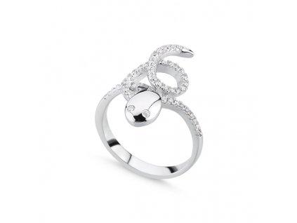 Stříbrný prsten HAD CZ