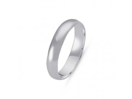 Snubní stříbrný prsten