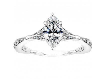 Stříbrný prsten BORNEO