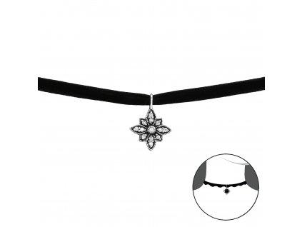 CHOKER náhrdelník se zirkony