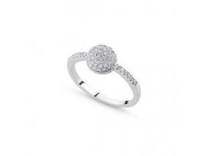 Stříbrný prsten  velikost 52