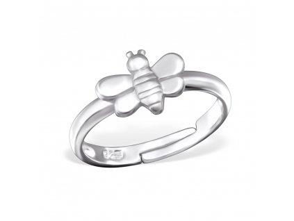 dětský stříbrný prstýnek VČELKA pro děti