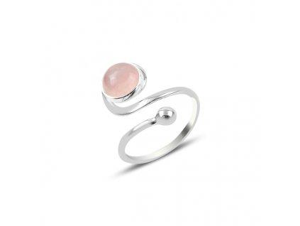 Stříbrný prsten RŮŽENÍN - nastavitelná velikost