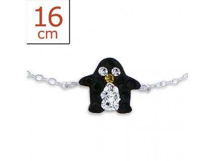 Dětský náramek tučňák