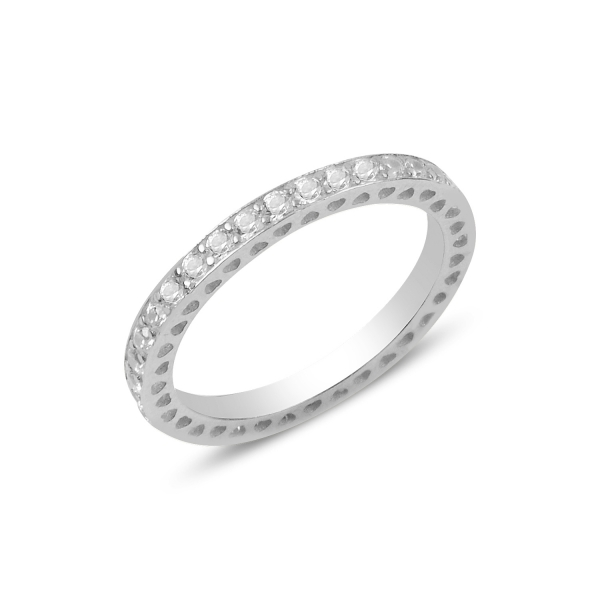 Levně Stříbrný prsten se zirkony 3176 Velikost prstenů: 8 (EU: 57-58) Ag 925; ≤2,2 g.