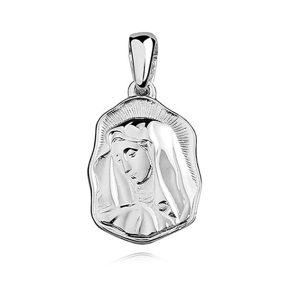 Levně Stříbrný přívěsek PANNA MARIE 3321 Ag 925; ≤3,1 g.