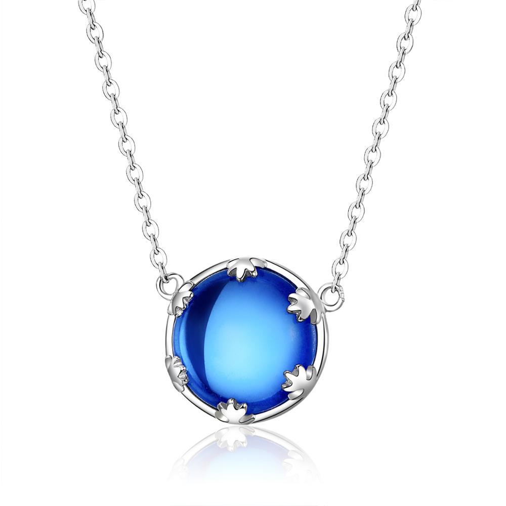 OLIVIE MOŘE LÁSKY stříbrný náhrdelník 3426