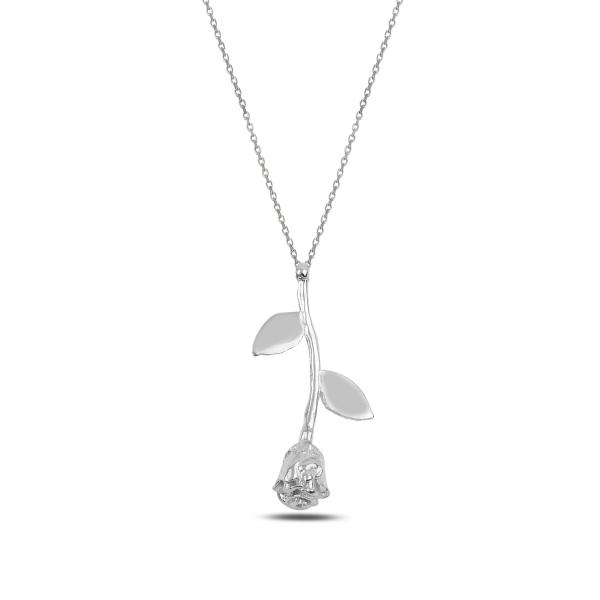 3457 Stříbrný náhrdelník RŮŽE Ag 925; ≤3,2 g.