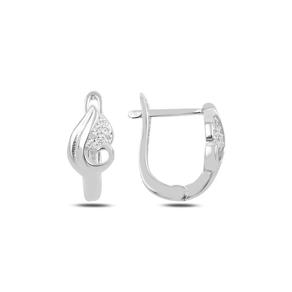 Levně 3480 Stříbrné náušnice KAPKA ROSY Ag 925; ≤2,9 g.