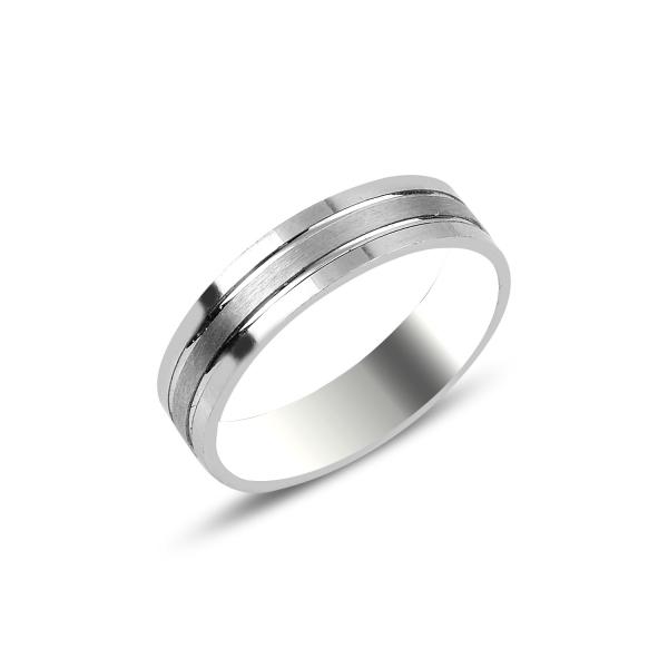 Levně Snubní stříbrný prsten 3720 Velikost prstenů: 9 (EU: 59 - 61) Ag 925; ≤>3,5 g.