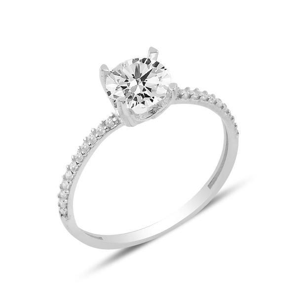 OLIVIE Stříbrný prstýnek se zirkonem 3900 Velikost prstenů: 5 (EU: 49-50)