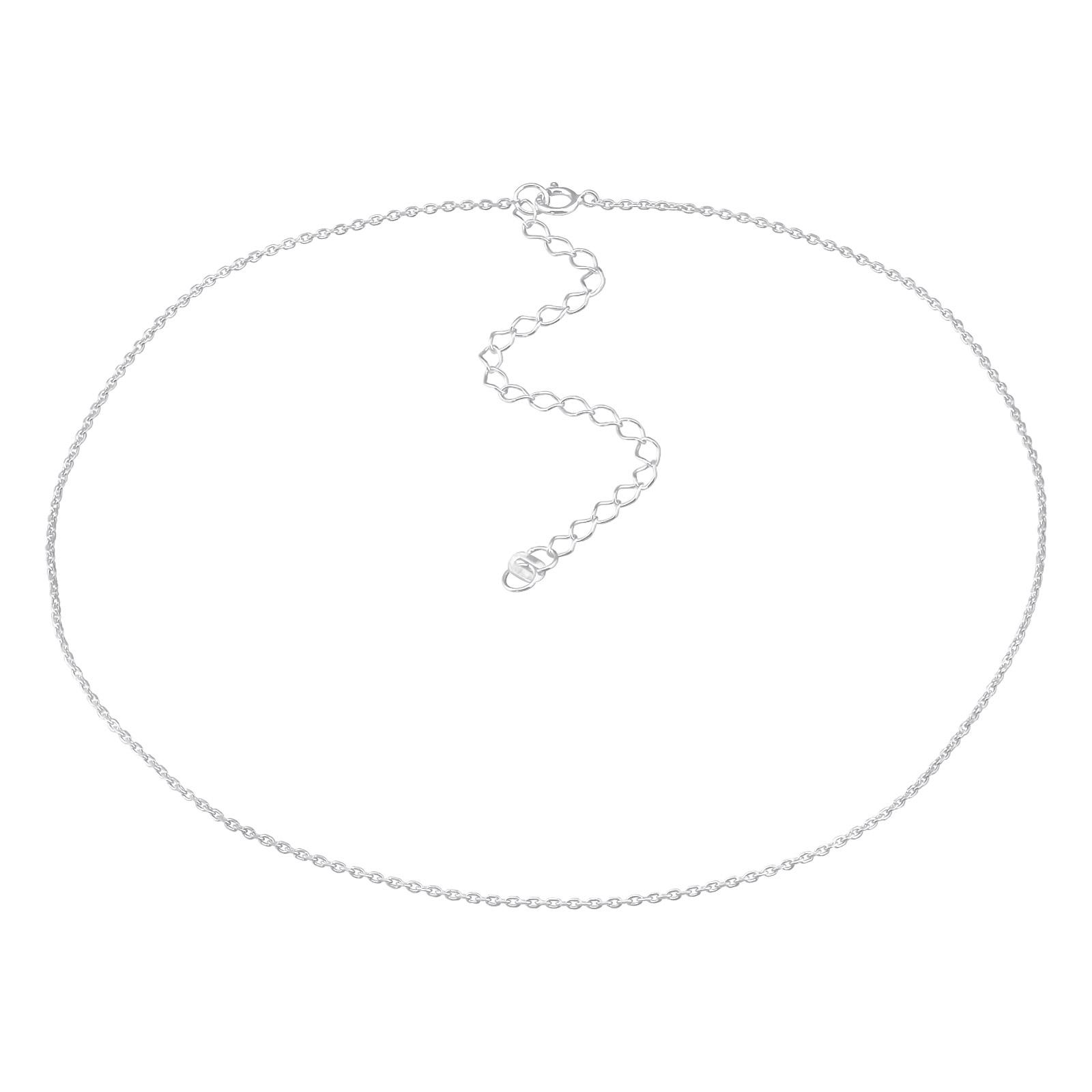 OLIVIE Stříbrný choker řetízek 4011