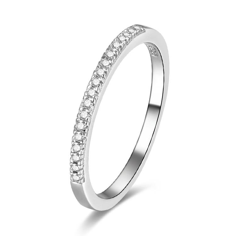 Levně Stříbrný prsten JASMINA 4865 Velikost prstenů: 9 (EU: 59-61) Ag 925; ≤1,5 g.