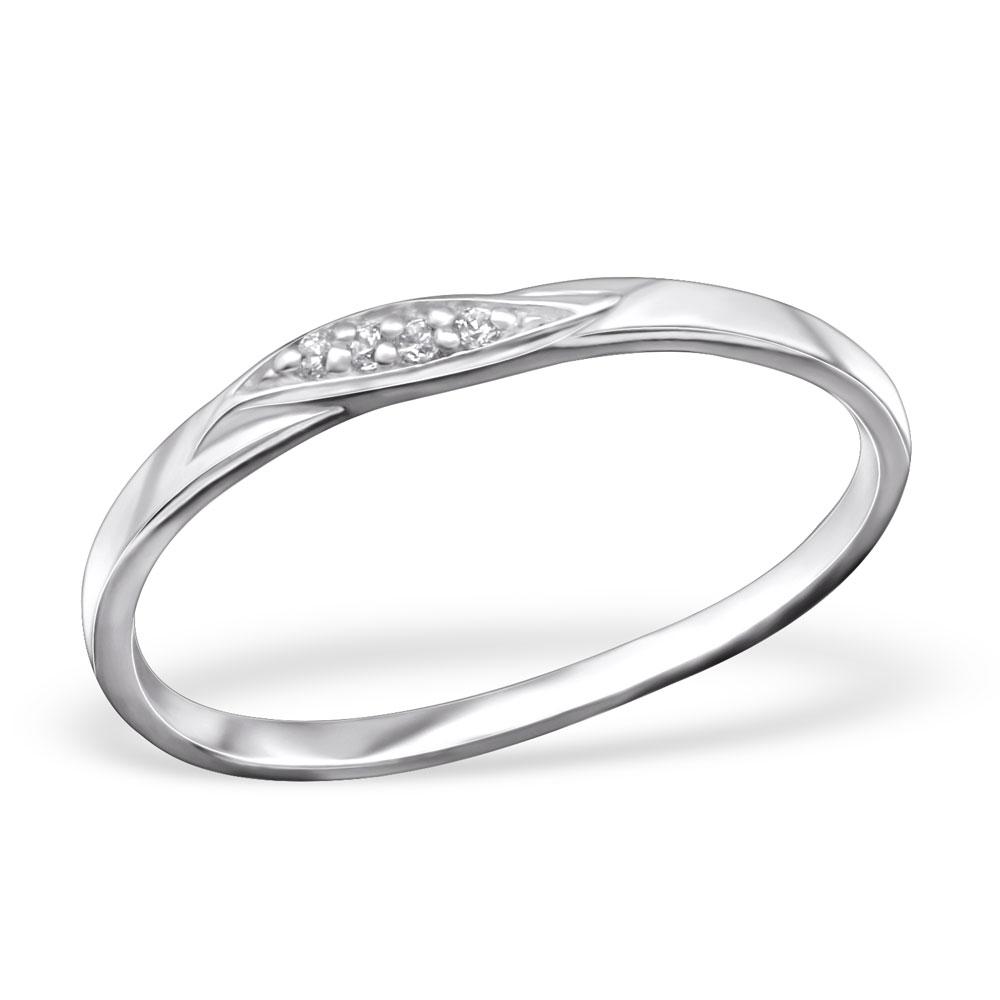 OLIVIE Stříbrný prsten 0667 Velikost: 6