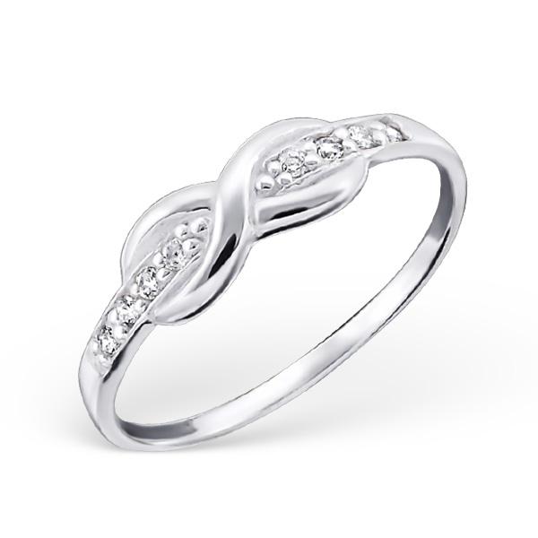 OLIVIE Stříbrný prsten NEKONEČNO 0673 Velikost: 8 (EU: 57 - 58)