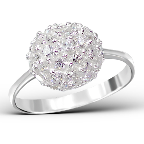 OLIVIE Nádherný stříbrný prsten 0677 Velikost: 8 (EU: 57 - 58)