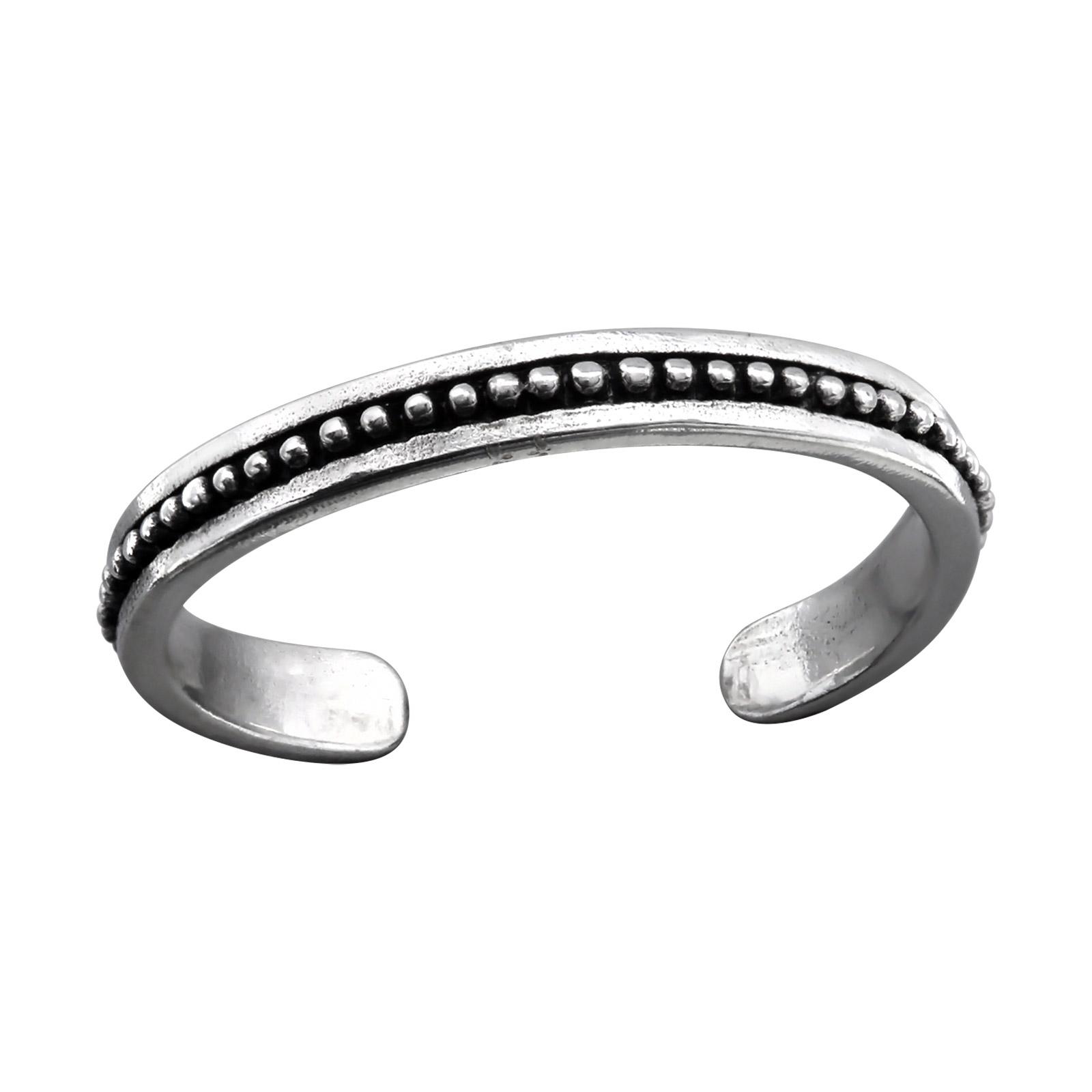 OLIVIE Stříbrný prsten na nohu 1215