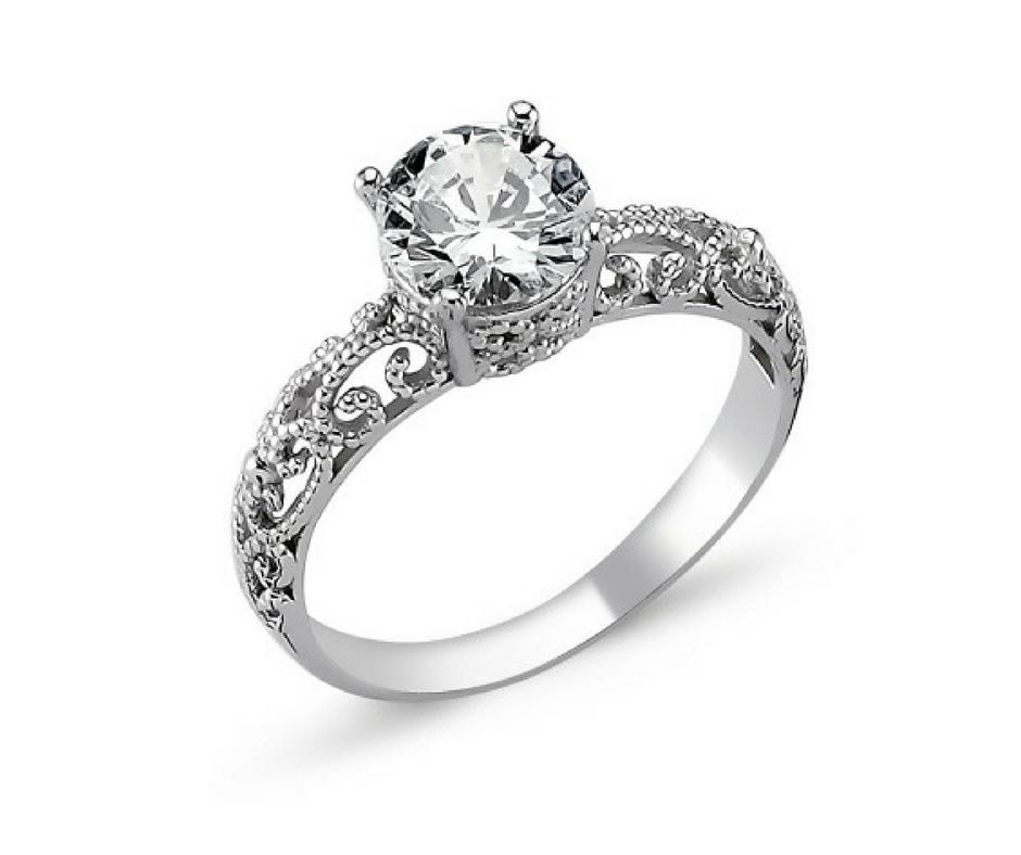 OLIVIE Stříbrný prsten OLIVIE s kubickým zirkonem 1272 Velikost prstenů: 5 1/4 (EU: 50)