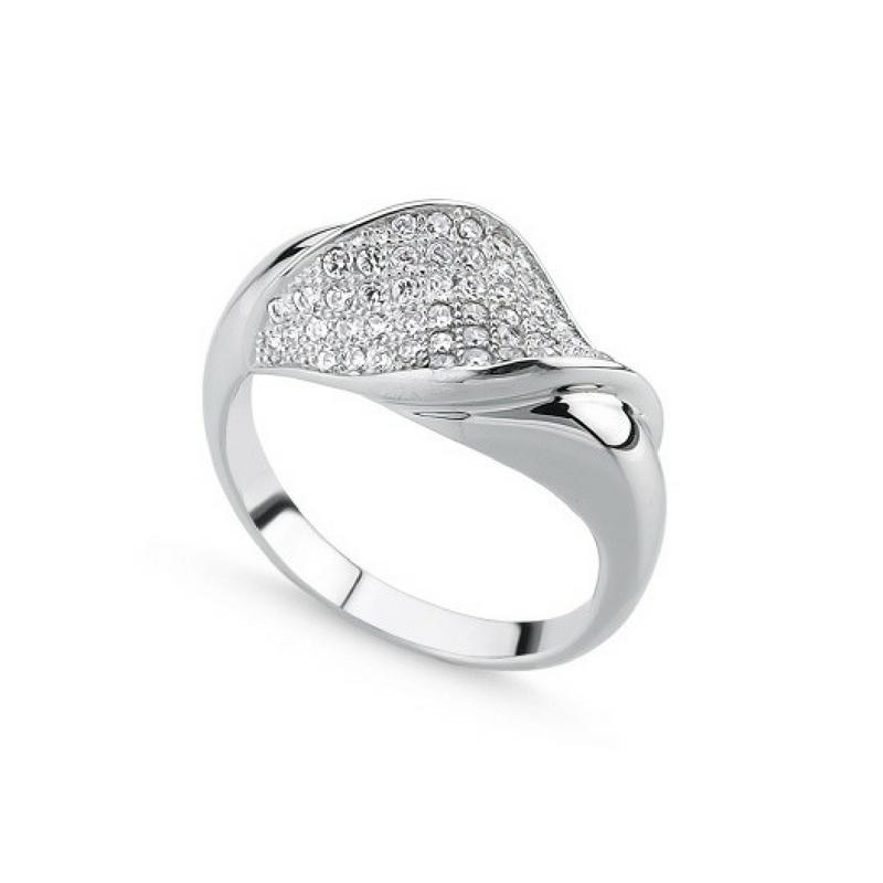 OLIVIE Stříbrný prsten PICASSO 1421 Velikost: 8 (EU: 57 - 58)