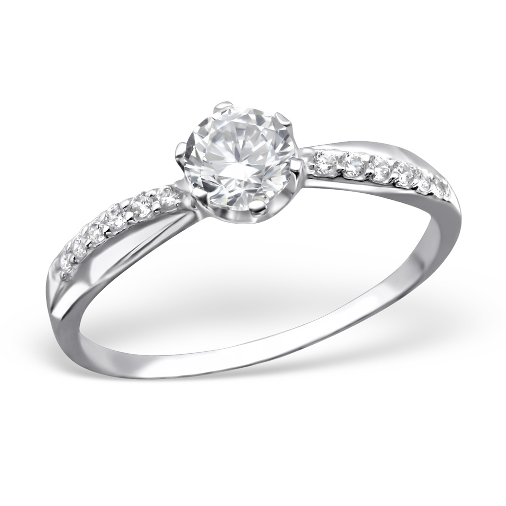 OLIVIE - stříbrný prsten 0132 Velikost: 8 (EU: 57 - 58)