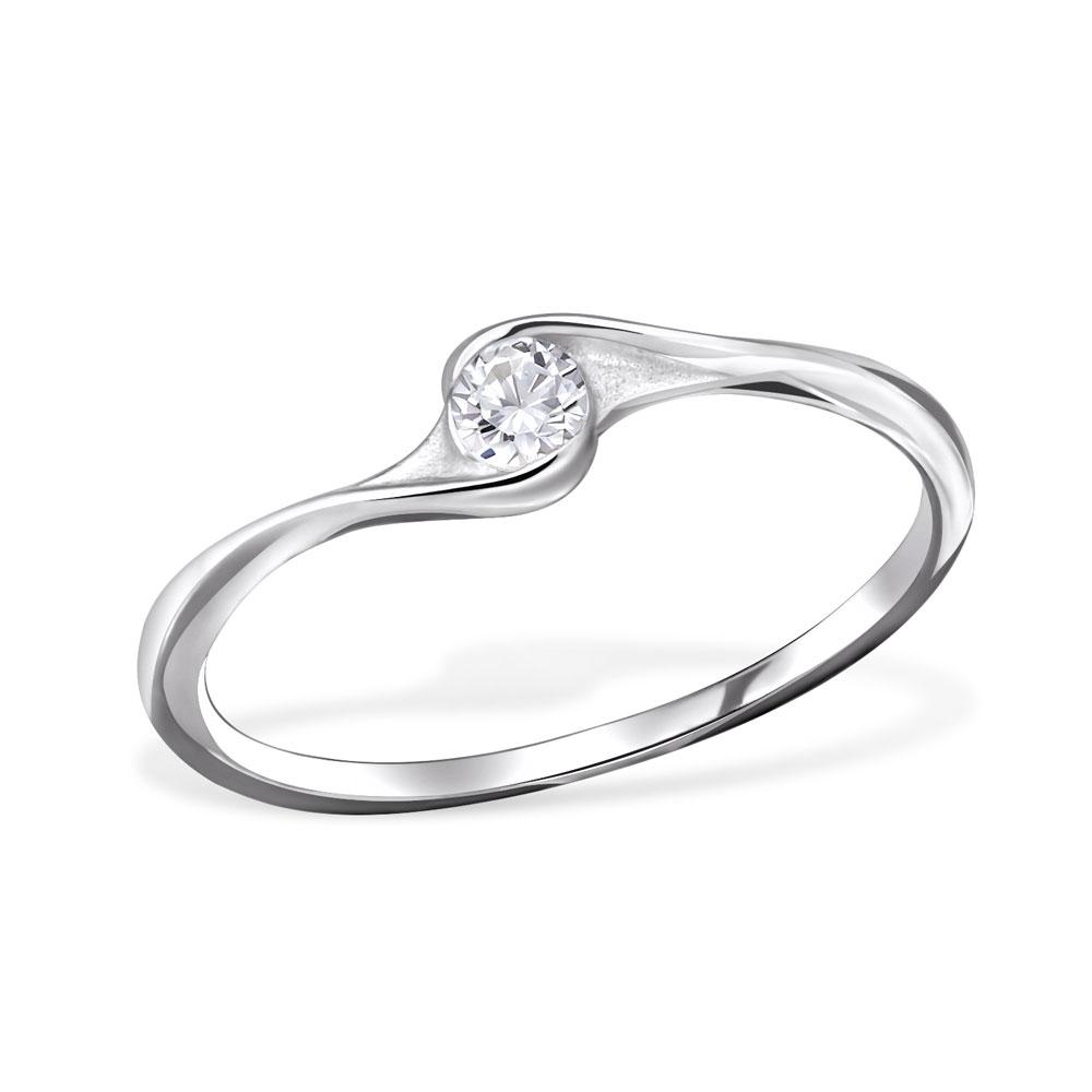 OLIVIE - stříbrný prsten 0133 Velikost: 8 (EU: 57 - 58)