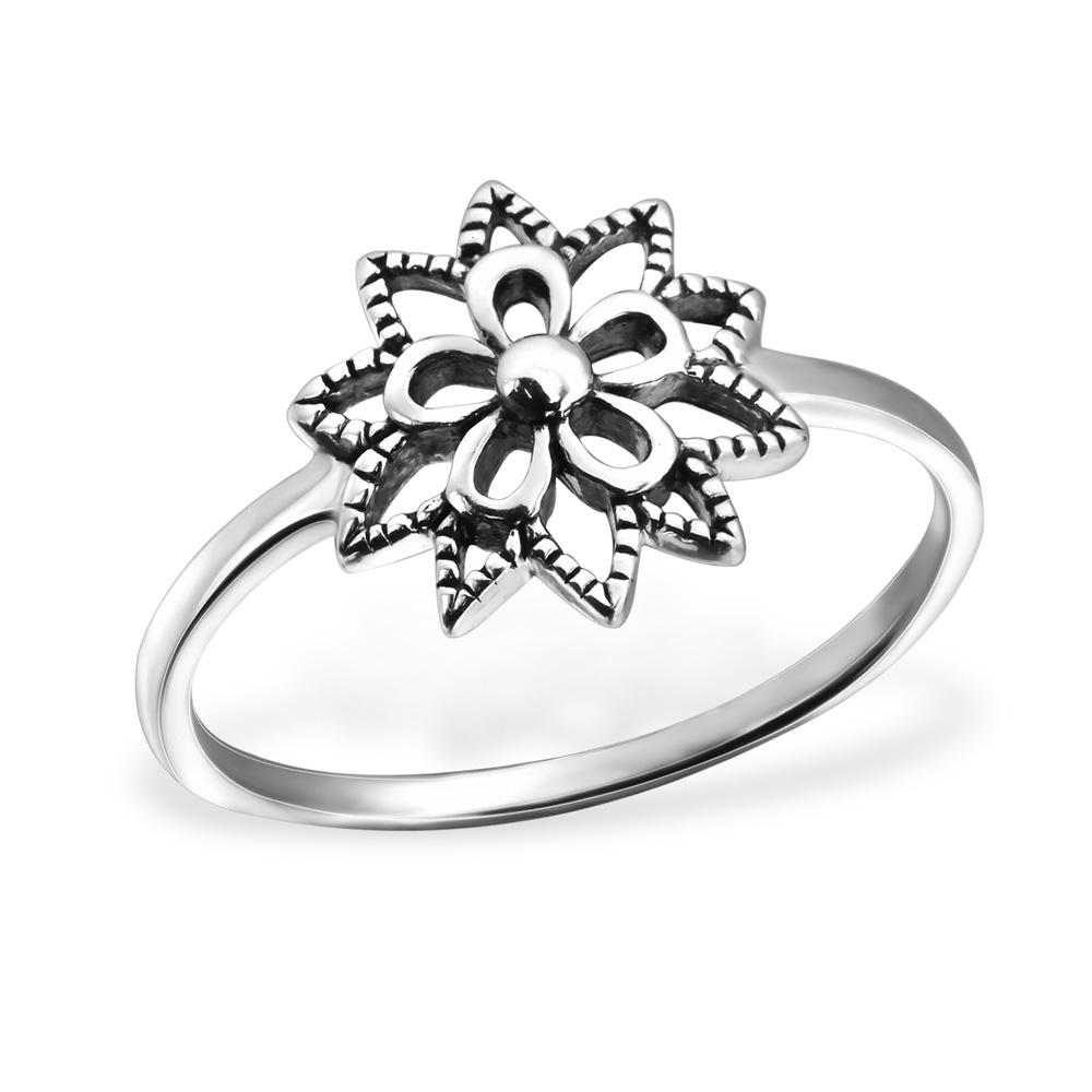 OLIVIE - stříbrný prsten 0142 Velikost: 8 (EU: 57 - 58)