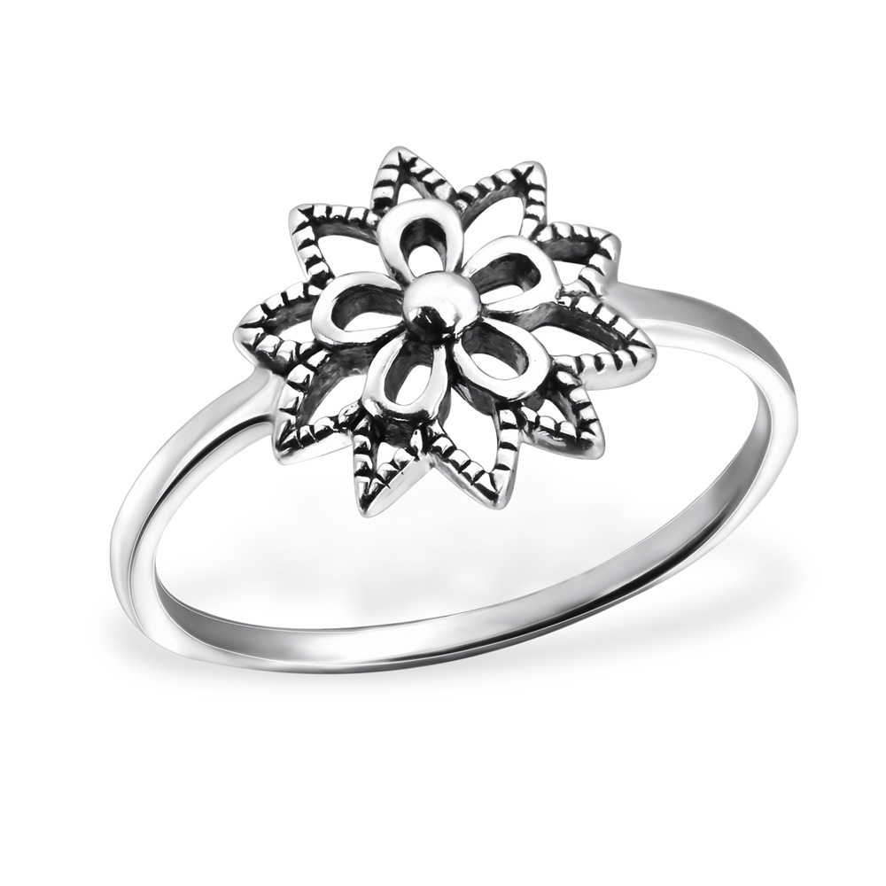 Levně stříbrný prsten 0142 Velikost prstenů: 6 (EU: 51 - 53) Ag 925, 1,5 g.