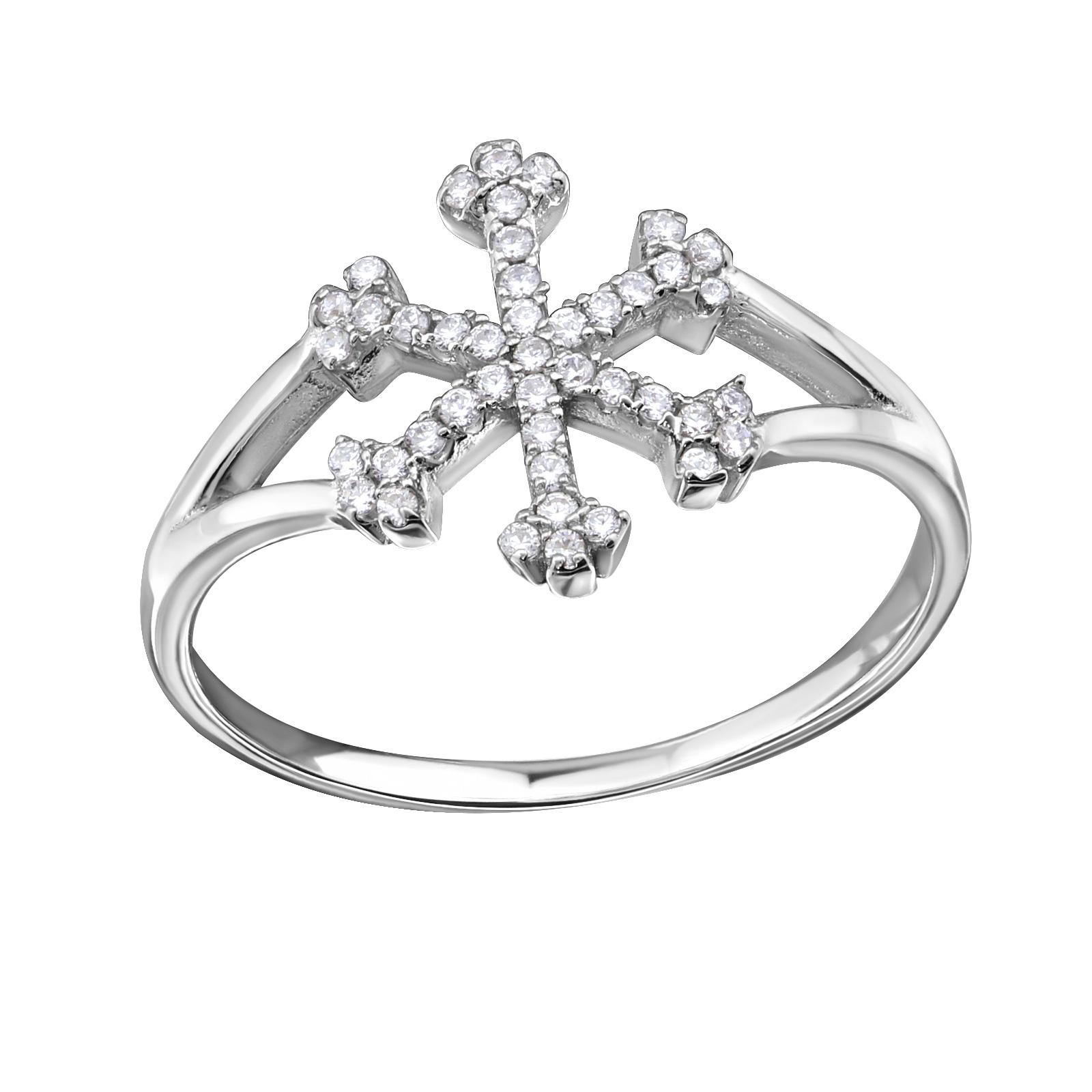 OLIVIE - stříbrný prsten 0143 Velikost: 8 (EU: 57 - 58)