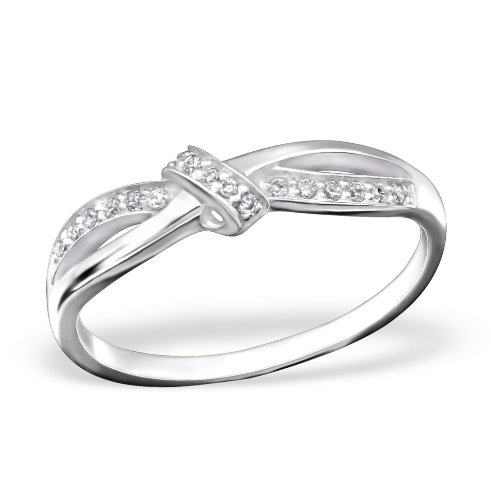 OLIVIE - stříbrný prsten 0144 Velikost: 8 (EU: 57 - 58)