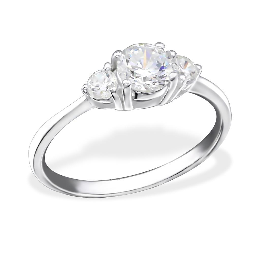 OLIVIE - stříbrný prsten 0146 Velikost: 8 (EU: 57 - 58)